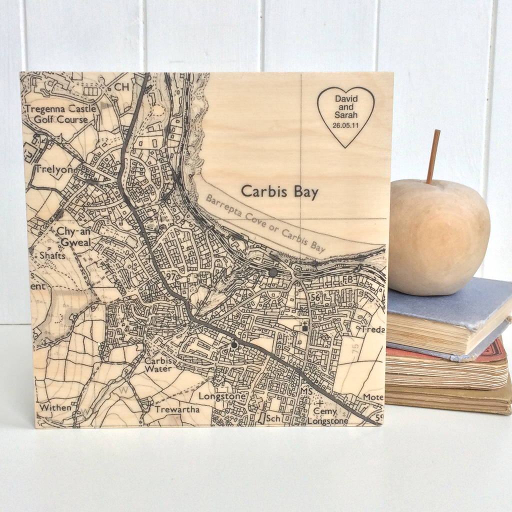 Map 8f Australia.Personalised Heart Location Map Print On Wood