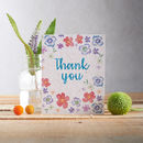 Jolly Purple Thank You Plantable Wildflower Seed Card