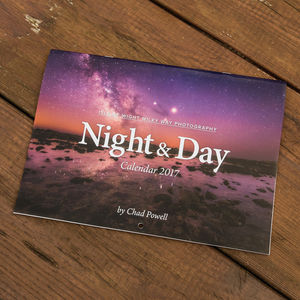 Night And Day Landscape Photography Calendar 2017