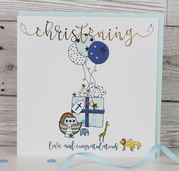 Luxury Christening Card Boy/ Girl