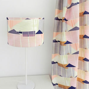 Palmetto Drum Lampshade