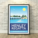 Henley On Thames Regatta, Oxfordshire Print