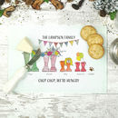 Personalised Welly Boot Chopping Board