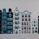 Amsterdam Screen Print