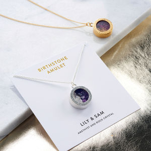 Personalised Mixed Birthstone Locket - gifts for mothers