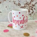 Contemporary Name Mug