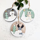 Personalised Christmas Character Decoration