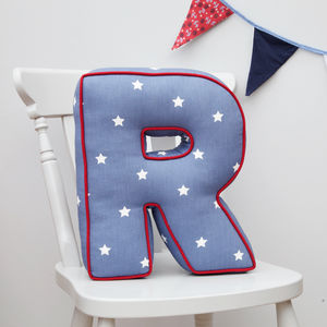 Letter Cushion - gifts for babies