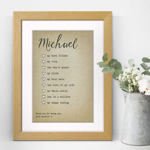 Special Qualities Personalised Print - shop by price