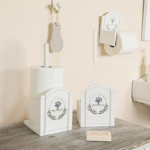 French Provence Bathroom Accessories Collection - toilet roll holders