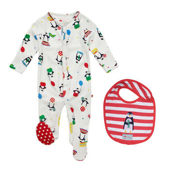 Penguin Baby Gift Set