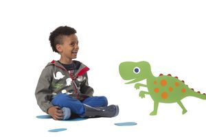 Child's Colour Changing Dino Jacket - on trend: dinosaurs