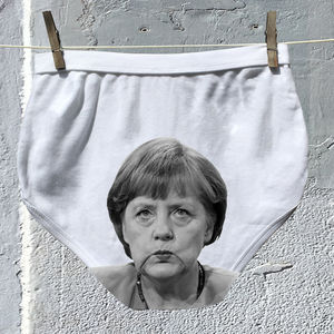 Political Pants Underwear For Men And Ladies Merkel