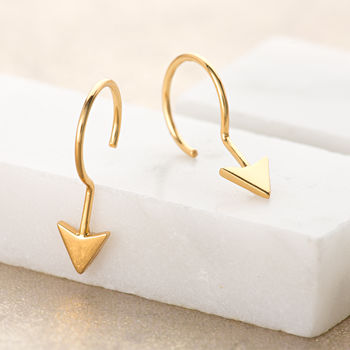 Arrow Point Earrings