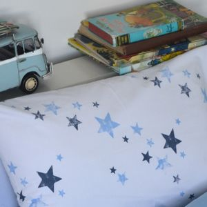 Stars Organic Cot Bed Duvet Cover And Pillowcase