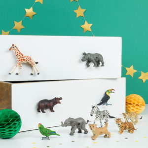 Safari Animal Drawer Knobs Door Knobs ~ Set Of 10