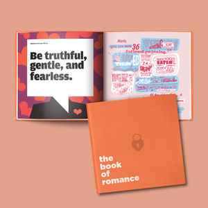 Personalised Anniversary Book All About Them - just because gifts