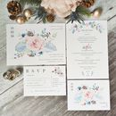 Winter Blush Wedding Stationery