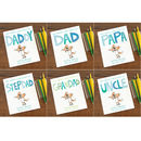 range of different cover for personalised dads book daddy dad pap stepdad grandpa uncle