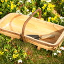 English Sussex Style Flower Trugs Ft1