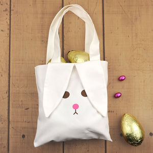 Personalised Bunny Bag - children's easter
