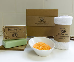 'Erytheia' Aloe Vera Aromatherapy Mini Spa Gift Set - soap gift sets