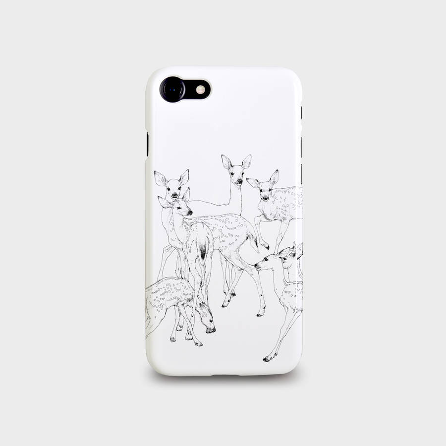 Deer Design For iPhone And Samsung Galaxy