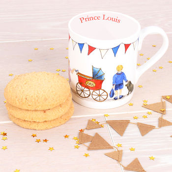 Prince Louis Fine Bone China Mug