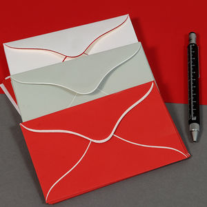 Hand Bordered Notelet Stationery