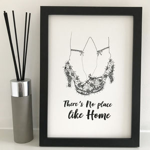 No Place Like Home Print - new in prints & art