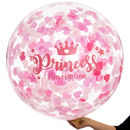 Princess For A Day Confetti Giant Balloon