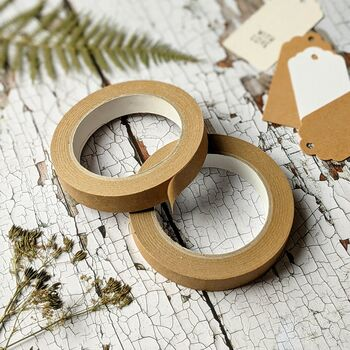 Plain Kraft Eco Paper Tape