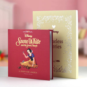 Personalised Vintage Snow White Gift Boxed Book - gifts for children