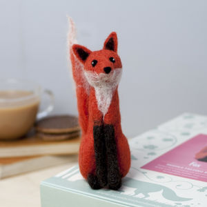 Fox Needle Felting Craft Kit