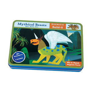 Magnetic Play Scenes In A Tin