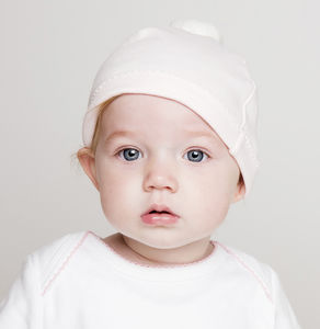 Baby Pom Pom Hat - summer sale