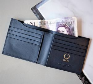 Champion Dad Luxury Leather Billfold Wallet - gifts for him