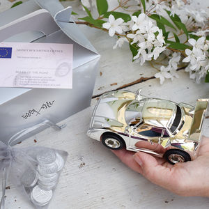 Personalised Car Money Box - money boxes