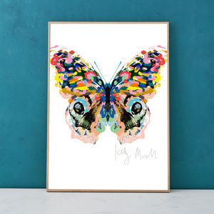 Martinique Butterfly Print