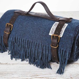 Luxury Blue Picnic Blanket - sale by category