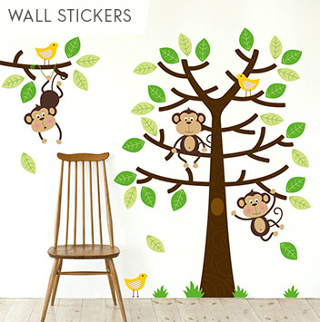 shop wall stickers