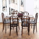Hairpin Legs Barnwood Dining Table