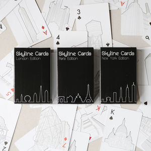 Skyline Cards The London Edition - for big kids