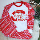 Personalised Magical Christmas Kids Pyjamas