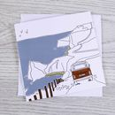 Campervan Greetings Card 'The Path To Happiness'
