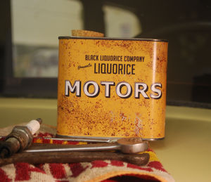 Liquorice Motors 'Rusty Tin'