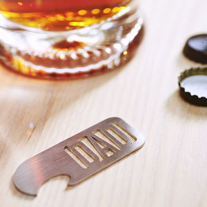 Personalised Name Bottle Opener - gifts under £25