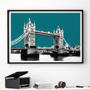 London Art Print London Gift Tower Bridge