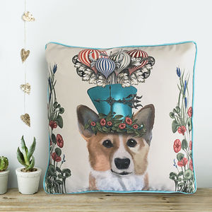 Corgi Cushion, The Milliners Dogs - cushions