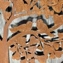 Rusted Heart Tree Wall Plaque